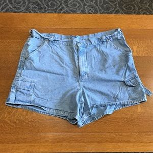 Riveted by Lee Light Blue Jean Shorts